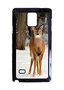 Whitetail In Snow Customized Photo Design Durable Hard Case Cover For Samsung Galaxy Note 4