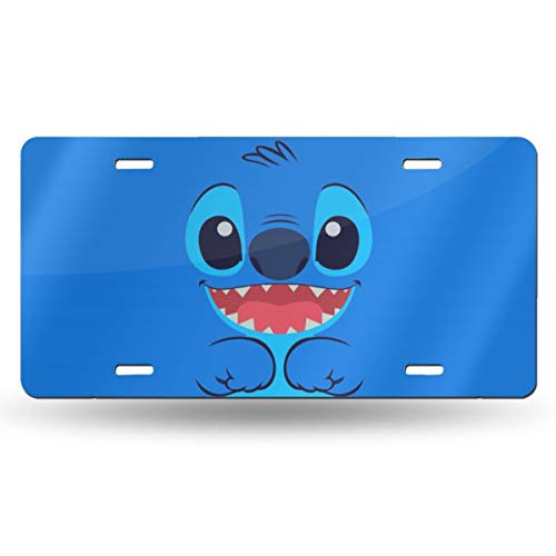 (Nnda Cute Stitch 6x12 Aluminum Vintage Sign - Aluminum License Plate, Front License Plate, Vanity Tag)