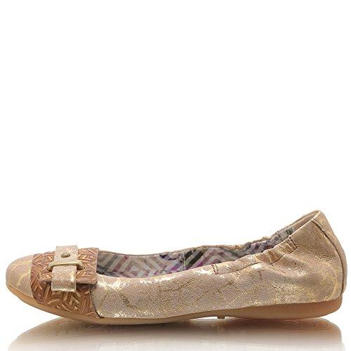 Geschlossene Camel Ballerinas Damen 670820 Mjus ZqxvXw