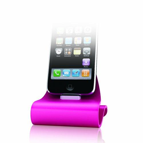 (Konnet Technologies Icrado Dock/Cradle for iPhone/iPod (Magenta))