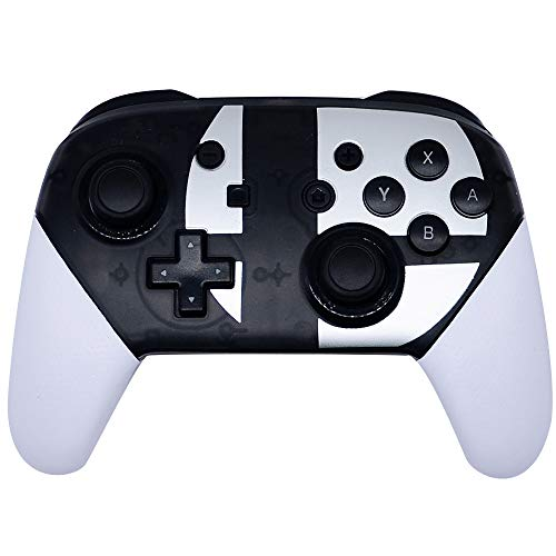 Wireless Controller for Nintendo Switch,Pro Controller Bluetooth Gamepad Joypad Remote Compatible with Nintendo Switch Console (Black & White)