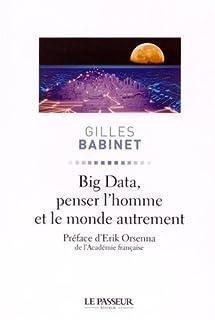 Big data, penser l'homme et le monde autrement, Babinet, Gilles