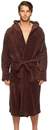 Wanted Bathrobe Hooded Fleece Pockets product image