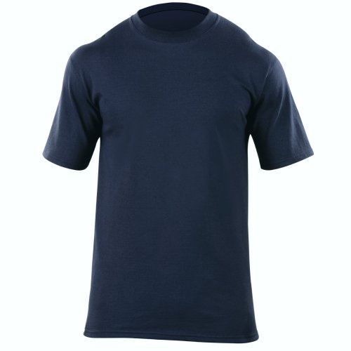 5.11 Tactical Men's Station Wear Short Sleeve T-Shirt, Tapered Fit, Ribbed Crew Neck, Style 40050