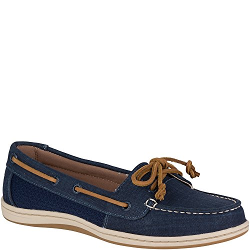 Blue Fish Boat Shoe - Sperry Top-Sider Firefish Scratch Linen Boat Shoe