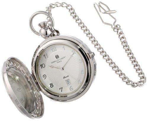 (Charles Hubert 3851 Quartz Picture Frame Pocket Watch)