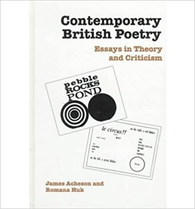 Book Contemporary British Poetry: Essays in Theory and Criticism