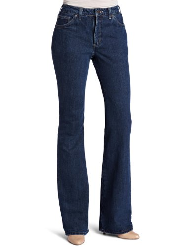 Dickies Women's Flannel Lined Jean, Stonewashed Vintage B...