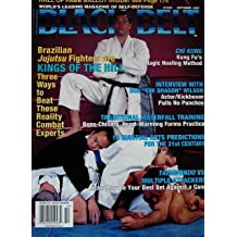 October 1997 Black Belt Magazine Royce Gracie Cover