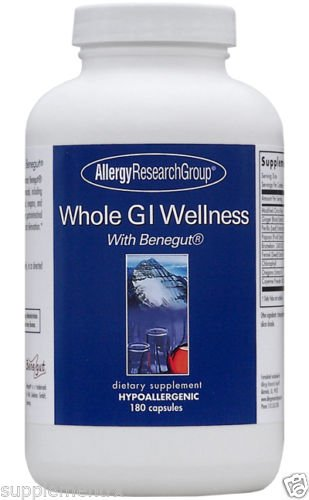 Whole GI Wellness with benegut 180 Caps (A68307) By Allergy Research (Pectin 180 Caps)