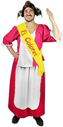 Disfraz de Fallera Fucsia para Hombre: Amazon.es: Juguetes y juegos