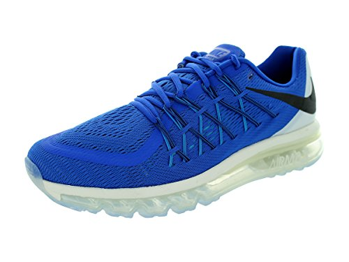 Nike Air Max 2015 Men US 8.5 Blue Running Shoe