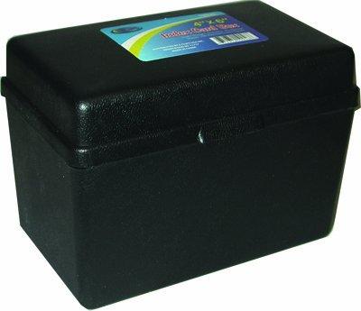 Index Card Plastic Storage Box - 4'' x 6'' 36 pcs sku# 1294700MA