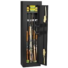 Homak HS30103605 Gloss Black 6 Gun Cabinet