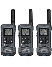 Motorola Talkabout Radio, Paquete de 3, T200TP, Gris