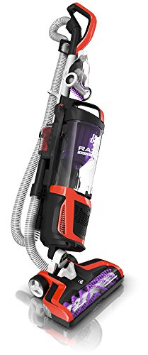 Dirt Devil Razor Pet Bagless Multi Floor Corded Upright Vacuum Cleaner with Swivel Steering, UD70355B Red