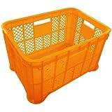採集コンテナ(オレンジ)平底6個 約520(横)*約365(縦)*約305(高さ)