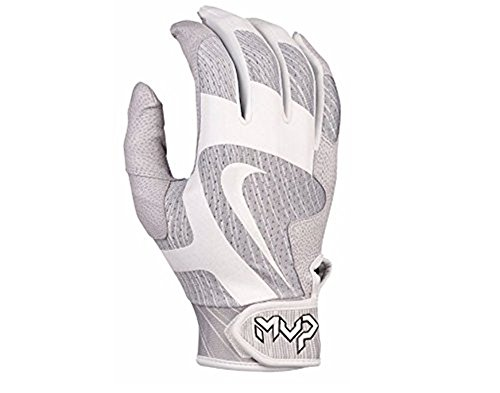 Nike Baseball Wristbands (Nike Men's MVP Pro Batting Glove (GB0418-103) L)