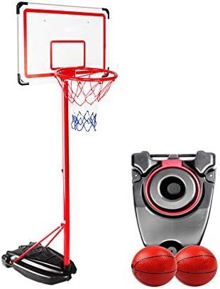 バスケットボールスタンド、若者ポータブルアウトドアスポーツを立て、子どもたちに適した高さ調節可能な47.2〜94.4インチ、屋内と屋外の
