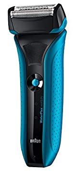 Braun Waterflex WF2s Men's Electric Foil Shaver Wet and Dry Rechargeable and Cordless Razor - Blue BeautyCentre 4210201095262