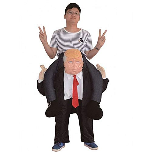 Donald Trump Ride - Disfraz de broma inflable: Amazon.es: Hogar