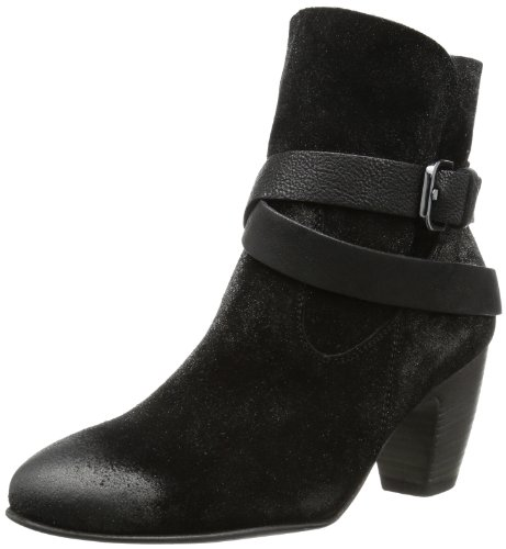 Kennel und Schmenger Schuhmanufaktur Mina - Botas Antideslizantes de cuero mujer negro - negro