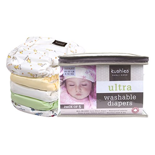 Kushies Reusable Ultra Diapers Infants