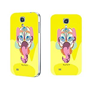 Animal Phone Cases- New Fashion Style Custom Design Cute Samsung Galaxy S4 I9500 Hard Plastic Back Case Cover Skin (colorful cartoon elephant BY524)