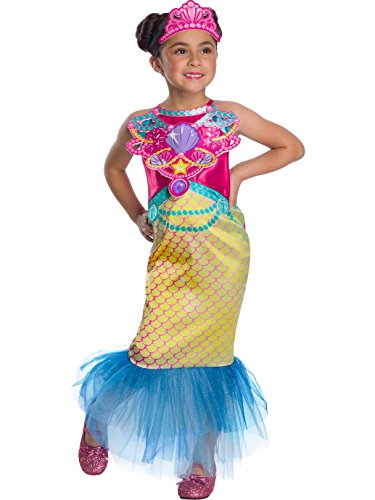 Rubie's Costume Co Barbie Dreamtopia Childrens Costume, Mermaid, -