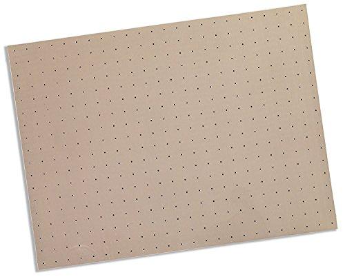 Rolyan Splinting Material Sheet, Kay-Splint II, Blush, 1/8'' x 18'' x 24'', 1% Perforated, Single Sheet by Cedarburg