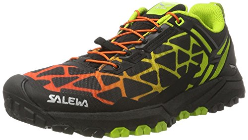 Cactus Salewa Multi black 0916 Track Outdoor Chaussures Multisport Halbschuh Homme Noir 4B4Cqwzr