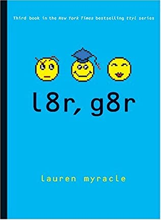 book cover of l8r, g8r