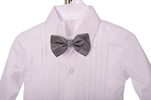 313231669e4 Dressy Daisy Baby Boys  Formal Dress Suit Tuxedo no Tail 5pc Set Wedding  Outfits 038