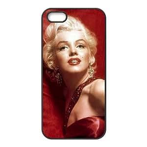 iPhone 4 4s Cell Phone Case Black Marilyn Monroe bwve