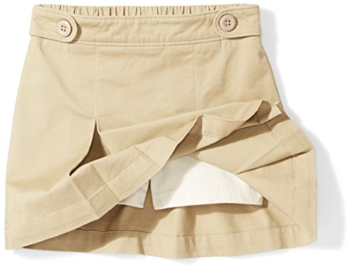 Amazon Essentials Girls' Uniform Skort, Khaki, S (6/7) by Amazon Essentials (Image #3)