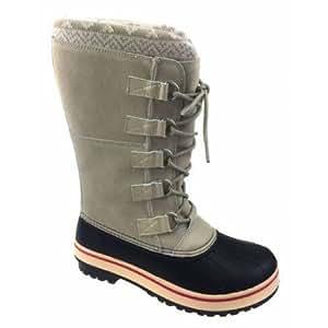 Amazon.com : Ozark Trail Women's Tall Winter Boot (IVORY