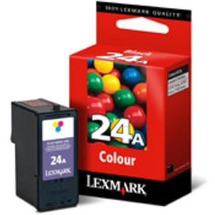 Lexmark No.24A Color Print Cartridge cartucho de tinta Cian ...