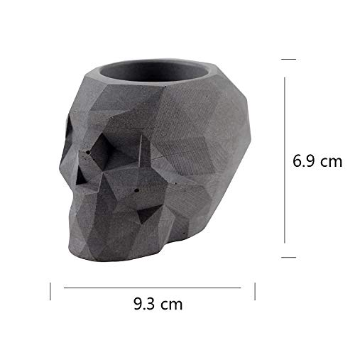 Resin Molds Flower Pot Silicone Concrete Mould Ashtray Candle Holder Mold Garden Bonsai Decoration Tool