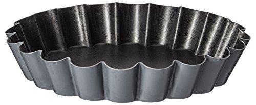 Matfer Bourgeat 332658 Exopan Non-Stick Steel Scalloped Quiche by Matfer Bourgeat