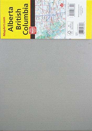 Rand McNally British Columbia/Alberta, Canada Road Map