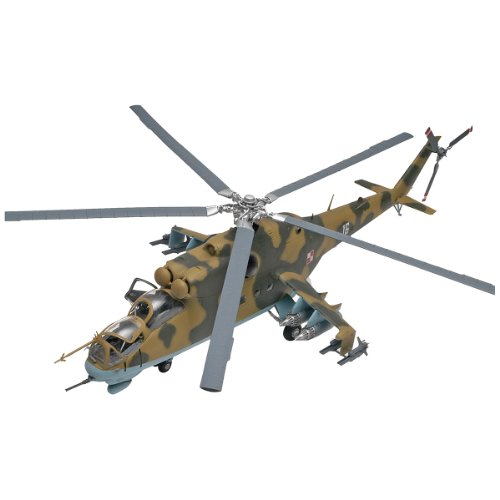 Plastic Model Kit-Mil-24 Hind Helicopter ()