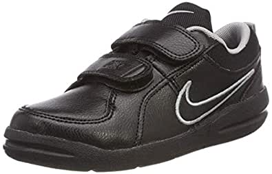 Nike Australia Boys Pico 4 (PSV) Fashion Shoes, Black/Black-Metallic Silver, 11.5 US