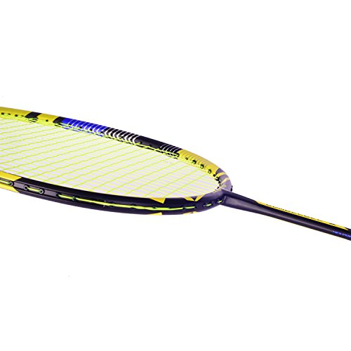 12c71619d LANGNING Badminton Racquet Light Racket Set Carbon Fiber 7u Best ...