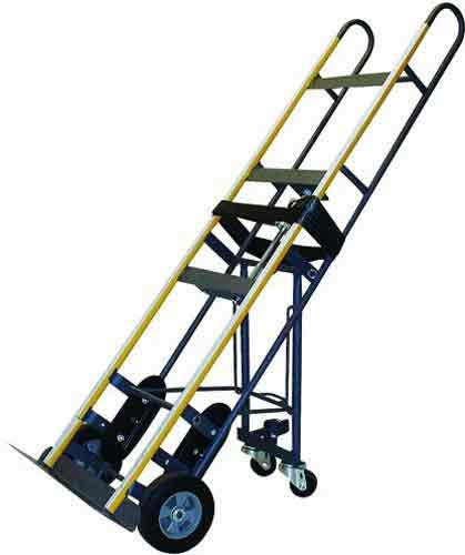 Milwaukee Hand Trucks 40716 Appliance Truck with Puncture Proof Tires and Retractable Casters ()