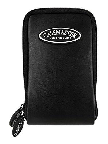 Casemaster Mini Pro 6 Dart Leatherette Storage/Travel Case, Black