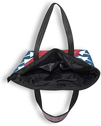 My Daily Women Tote Shoulder Bag Victory Star Handbag