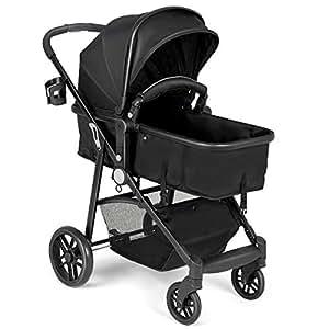 Amazon Com Baby Joy Baby Stroller 2 In 1 Convertible