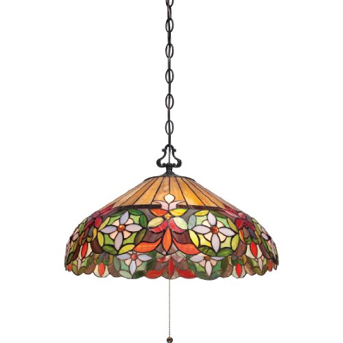 Quoizel TFMH1820VB Three Light Pendant Artisan Traditional Chandelier