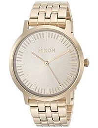 Nixon Men's 'Porter 35' Quartz Stainless Steel Casual Watch, Color:Gold-Toned (Model: A1198502)