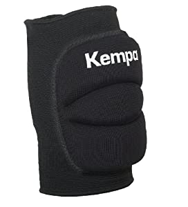 Kempa Kinder Knie Indoor Protektor Gepolstert, schwarz, XS, 200651001